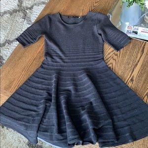 NWOT short sleeve A-line dress!